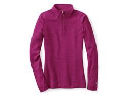 Smartwool Women's NTS Mid 250 1/4 Zip Base Layer Shirt Long Sleeve Merino Wool