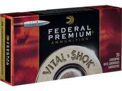 Federal Premium Vital-Shok Ammunition 300 Winchester Magnum 180 Grain Trophy Bonded Tip Box of 20