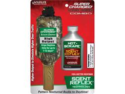Wildlife Research Center Super Charged Scrape Dripper Hot-Scrape Synthetic Deer Scent Combo Liqui...