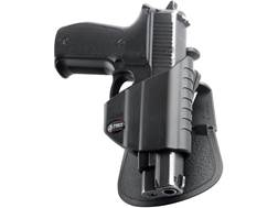 Fobus Thumb Lever Holster with Belt and Paddle Attachment Polymer Black