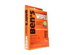 Ben's 30 Deet Insect Repellent Wipes Pack of 12
