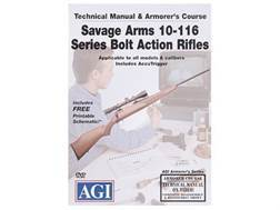 "American Gunsmithing Institute (AGI) Technical Manual & Armorer's Course Video ""Savage Arms 10-11..."