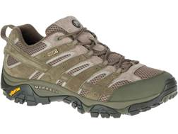 """Merrell Moab 2 Low 4"""" Waterproof Hiking Shoes Leather/Synthetic Men's"""