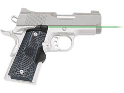 Crimson Trace Master Series Green Lasergrips 1911 Officer's, Defender, Compact G10 Gray