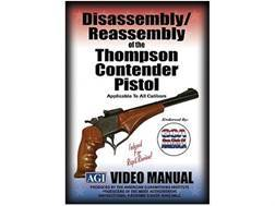 "American Gunsmithing Institute (AGI) Disassembly and Reassembly Course Video ""Thompson Contender ..."