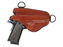 Bianchi X16H Agent X Shoulder Holster Right Hand 1911 Government, Browning Hi-Power Leather Tan