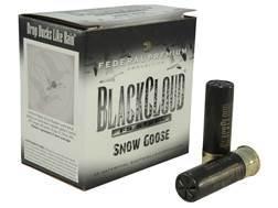 "Federal Premium Black Cloud Snow Goose Ammunition 12 Gauge 3"" 1-1/8 oz BB Non-Toxic FlightStopper..."