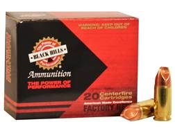 Black Hills HoneyBadger Ammunition 9mm Luger Subsonic 125 Grain Lehigh Xtreme Defense Lead-Free B...