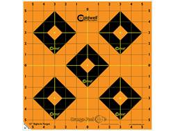 "Caldwell Orange Peel Targets 12"" Self-Adhesive Sight-In Pack of 5"