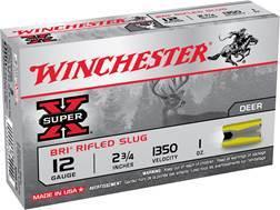 "Winchester Super-X Ammunition 12 Gauge 2-3/4"" 1 oz BRI Sabot Slug Box of 5"