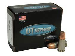 Doubletap Ammunition 9mm Luger +P 124 Grain Bonded Defense Jacketed Hollow Point Box of 20