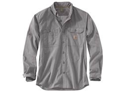 Carhartt Men's Force Ridgefield Button-Up Shirt Long Sleeve Polyester/Cotton