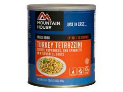 Mountain House 10 Serving Turkey Tetrazzini Freeze Dried Food #10 Can