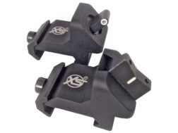 XS Express Threat Interdiction Night Sight Set AR-15 Steel Matte Tritium Standard Dot Front, Whit...