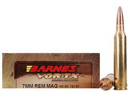 Barnes VOR-TX Ammunition 7mm Remington Magnum 160 Grain Triple-Shock X Bullet Boat Tail Lead-Free...