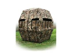 X-Stands The Kingpin Ground Blind Steel DZX Camo