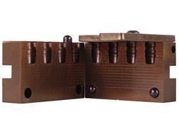 Saeco 4-Cavity Bullet Mold #326 32 Caliber (313 Diameter) 100 Grain Semi-Wadcutter Bevel Base