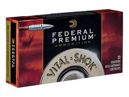 Federal Premium Vital-Shok Ammunition 338 Remington Ultra Magnum 210 Grain Nosler Partition Box o...