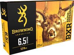 Browning BXR Rapid Expansion Ammunition 6.5 Creedmoor 129 Grain Matrix Tip