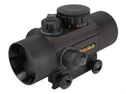 TRUGLO Xtreme Red Dot Sight 30mm Tube 1x Red and Green 4-Pattern Reticle (10 MOA Dot, Crosshair w...