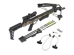 Carbon Express Blade Crossbow Package with 4x32 Deluxe Scope Camo