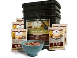 Wise Company Stocking Up 120 Serving Breakfast Freeze Dried Food Bucket