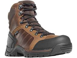 "Danner Rampant TFX 6"" Waterproof Uninsulated Non-Metallic Safety Toe Work Boots Leather and Nylon Brown Men's"