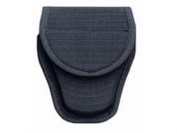 Bianchi 7318 Hinged Cuff Handcuff Case Hidden Snap Closure Nylon Black