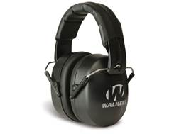Walker's EXT Folding Range Earmuffs (NRR 30dB) Black