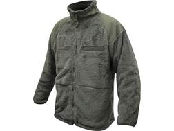 Military Surplus Gen III Shaggy Fleece Jacket Foliage Green