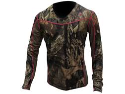 ScentBlocker Women's Sola 1.5 Performance Crew Shirt Long Sleeve Polyester Mossy Oak Break-Up Cou...