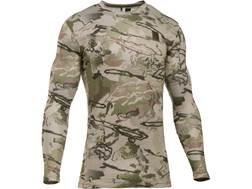 Under Armour Men's UA Ridge Reaper Base Layer Crew Shirt Long Sleeve Polyester Ridge Reaper Barre...