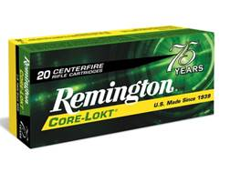 Remington Express Ammunition 30-06 Springfield 180 Grain Core-Lokt Pointed Soft Point Box of 20