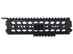 Midwest Industries SS-Series 2-Piece Drop-In Modular Rail Handguard AR-15 Mid Length Aluminum Bla...