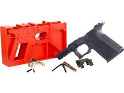 Polymer80 PF940Cv1 80% Pistol Frame Kit Glock 19, 23, 32 Textured Polymer Cobalt
