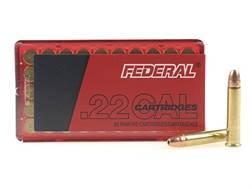Federal Game-Shok Ammunition 22 Winchester Magnum Rimfire (WMR) 50 Grain Jacketed Hollow Point Ca...
