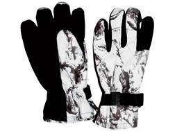 Natural Gear Snow Gloves Insulated Waterproof Polyester Natural Gear Snow Camo Medium/Large