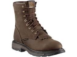 "Ariat Workhog 8"" Waterproof Work Boots Leather"