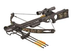 SA Sports Ambush Crossbow Package with 4x32 Multi-Range Scope Brown and NEXT G2 Camo
