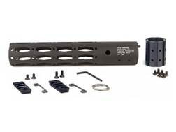 ALG Defense Ergonomic Modular Rail Free Float Handguard AR-15 Aluminum Black 10""