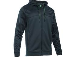 Under Armour Men's UA Armour Fleece Franchise Full Zip Hoodie Polyester Stealth Game Day/Black XL