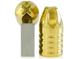 Lehigh Defense Xtreme Penetrator Bullets 458 Bushmaster (452 Diameter) 245 Grain Solid Brass Lead...