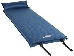 Coleman Self-Inflating Sleeping Pad with Pillow Polyester Blue