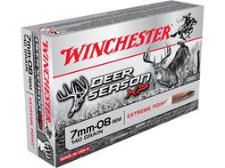 Winchester Deer Season XP Ammunition 7mm-08 Remington 140 Grain Extreme Point Polymer Tip