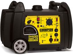 Champion 3100/3400 Watt Gas Powered Inverter Generator with Remote Start