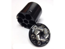 Howell Old West Conversions Conversion Cylinder 36 Caliber Uberti 1858 Remington Steel Frame Blac...