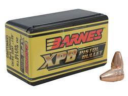 Barnes XPB Handgun Bullets 460 S&W (451 Diameter) 200 Grain Solid Copper Hollow Point Lead-Free B...