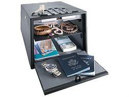 GunVault Standard MultiVault Personal Safe with Electronic Lock Black