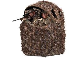 Ameristep Deluxe 3D Leafy 2-Man Chair Ground Blind Realtree Xtra Camo