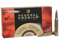 Federal Premium Vital-Shok Ammunition 270 Winchester 140 Grain Trophy Bonded Tip Box of 20